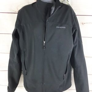 Patagonia Adze Black Polartec Full Zip Jacket